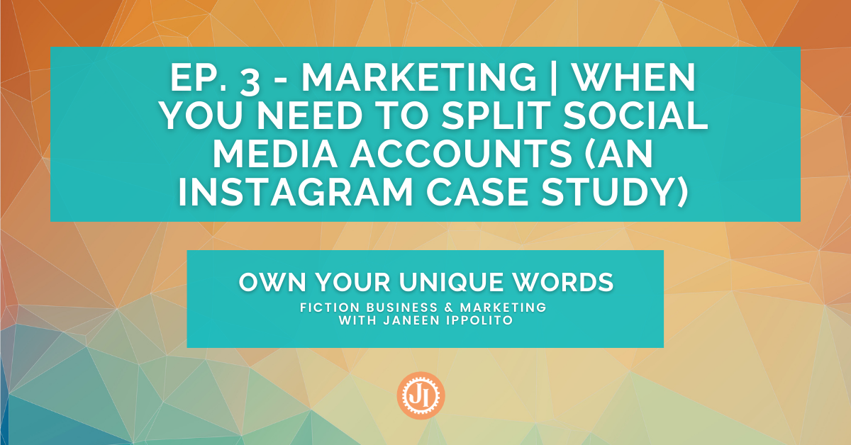 Ep. 3 – Marketing When You Need to Split Social Media Accounts (An Instagram Case Study)