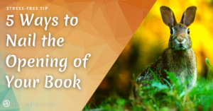 5 Ways to Nail the Opening of Your Book